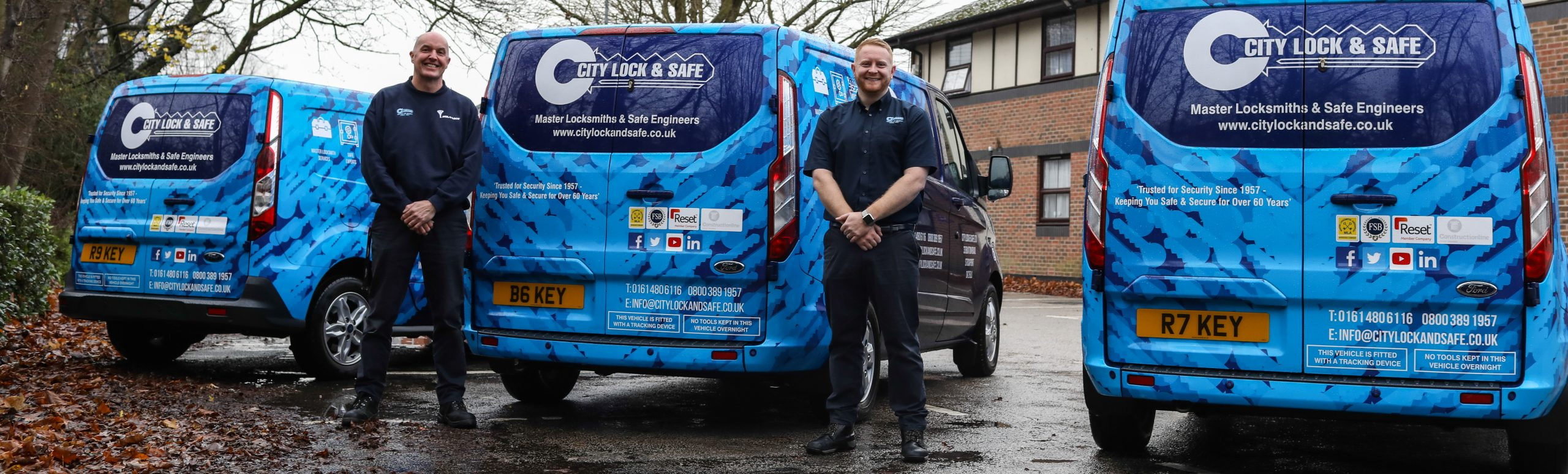Andy and James, Stockport Locksmiths